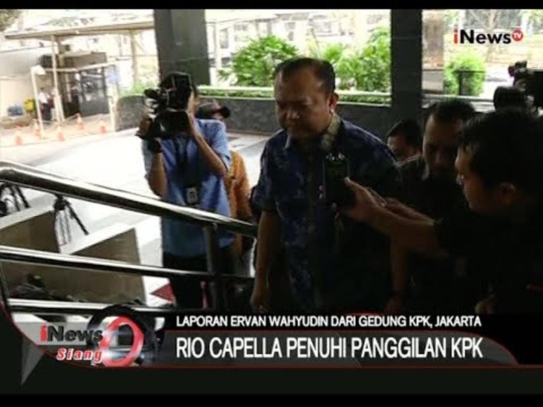 Live Report : Terkait Pemeriksaan Rio Capella Hari Ini - iNews Siang 23/10