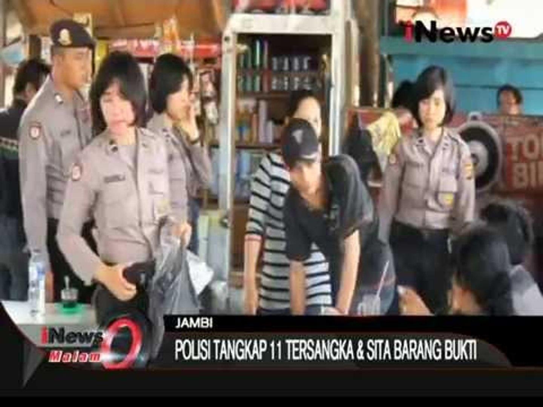 Razia Pekat, Bandar Togel Ditangkap Dalam Semak-Semak Untuk Mengelabui Petugas - iNews Malam 15/11