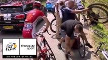 Tour de France 2018 : Jakob Fuglsang et plusieurs coureurs pris dans une chute