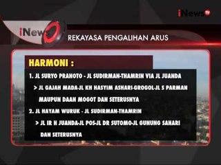 Berikut daftar sejumlah pengalihan arus lalu lintas pada malam pergantian tahun - iNews Siang 31/12