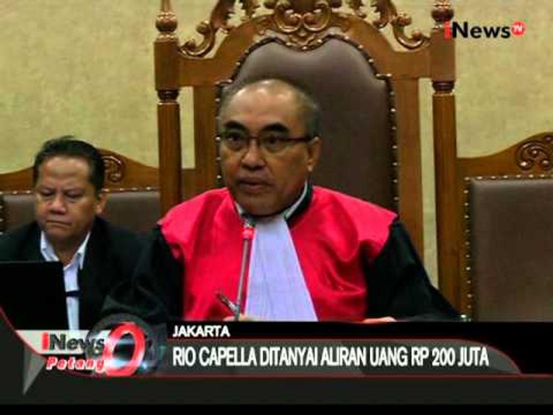 Hari ini Rio Capella hadiri sidang Gatot Pujo Nugroho sebagai saksi - iNews Petang 27/01
