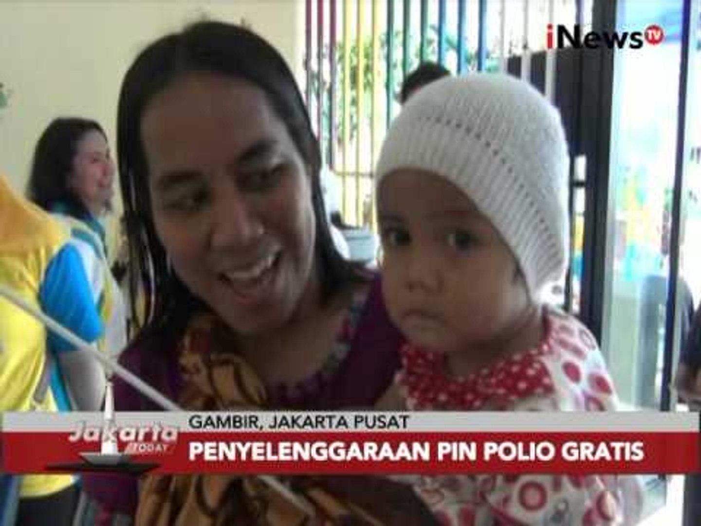 Mulai hari ini hingga 16 Maret, pemerintah gelar pekan imunisasi nasional - Jakarta Today 08/03