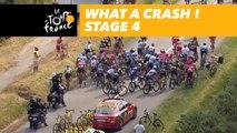 Quelle chute! / What a crash! - Étape 4 / Stage 4 - Tour de France 2018