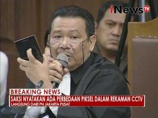 Saksi ahli jelaskan analisa setiap gambar rekaman CCTV - iNews Breaking News 15/09