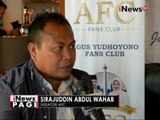 Pendukung Agus Yudhoyono dirikan AFC, Agus Fans Club - iNews Pagi 27/09