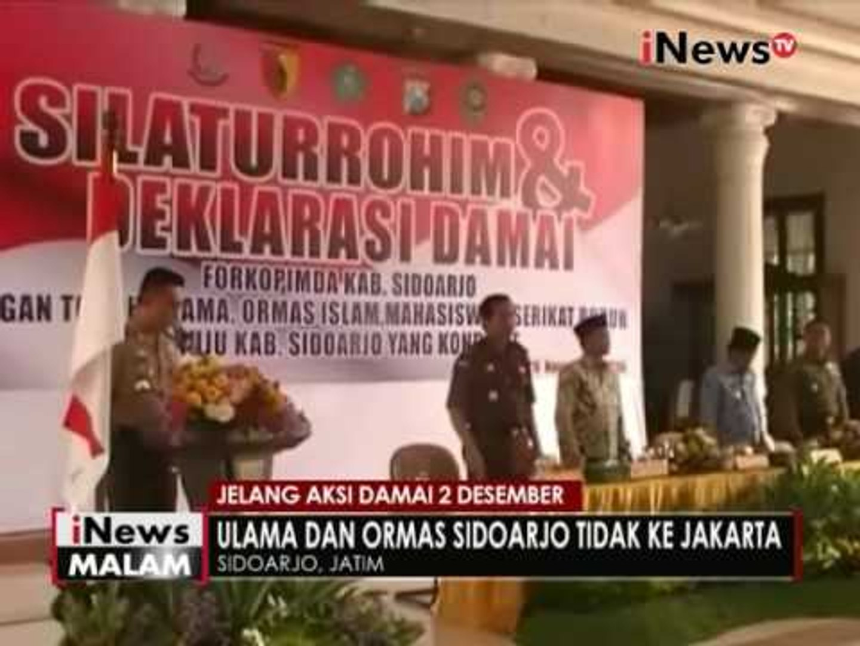 Dicurigai untuk aksi 212, 1000 ketapel diamankan Polres Surabaya - iNews Malam 29/11