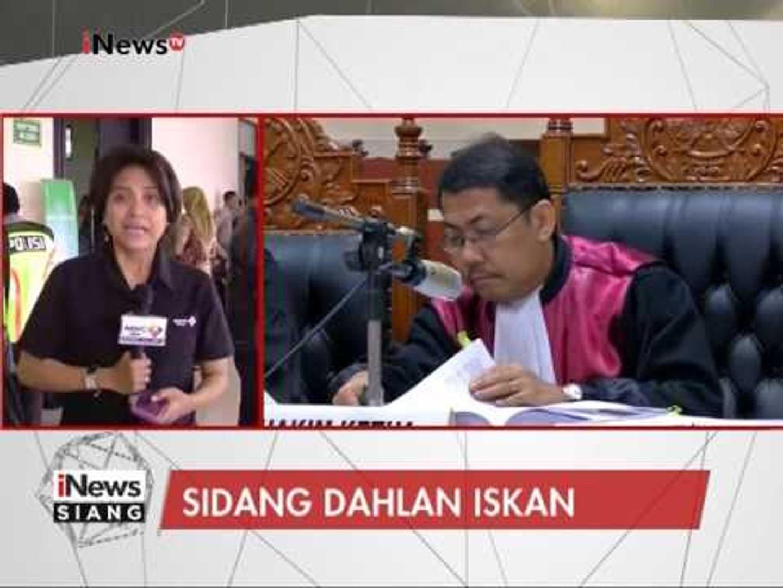 Jalannya Sidang Dahlan Iskan hari ini menghadirkan 6 orang saksi - iNews Siang 31/01