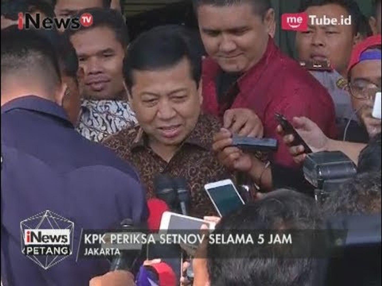 Hari ini Setnov Diperiksa KPK Sebagai Saksi Tersangka Andi Narogong - iNews Petang 14/07