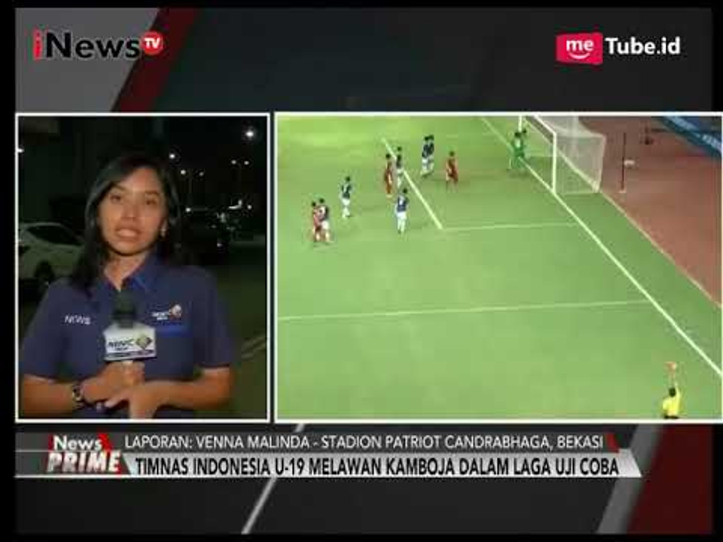 Laporan Suasana Terkini Pertandingan Sepakbola Indonesia U19 vs Kamboja U19 - iNews Prime 04/10