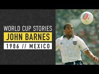 John Barnes | England v Argentina | Mexico 86 World Cup | SPORF
