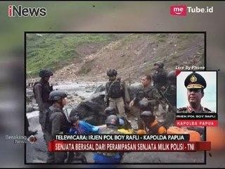 Keterangan Kapolda Papua Terkait Penyanderaan 1300 Warga Papua - Breaking News 09/11