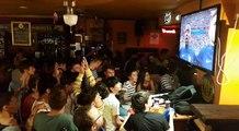 Besançon : Au Madigans, la Marseillaise entonnée en choeur par les supporters a fait trembler les verres sur les tables !
