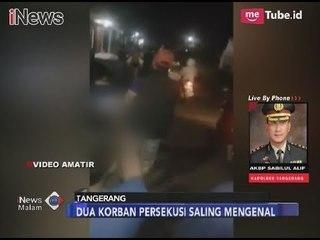 Keterangan Kapolres Tangerang Terkait Kasus Penelanjangan Sepasang Kekasih - iNews Malam 14/11