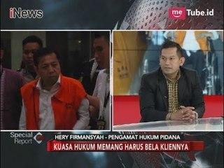 Kuasa Hukum Setnov Harus Tetap Gunakan Etika Saat Membela - Special Report 20/11