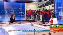 Mondial 2018, France-Belgique: départ de supporters belges ce matin