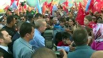 Türkiye Cumhurbaşkanı Erdoğan'a KKTC'de sevgi gösterisi (2) - LEFKOŞA