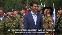 OTAN: à Riga, Trudeau envoie un message à Poutine