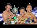 Blood WARRIORS (CIMA & Ricochet) vs. JUNCTION THREE (Dragon Kid & PAC (Neville)) Dragon Gate Crown Gate 2011 - Tag 8