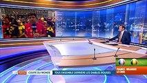 Mondial 2018, France-Belgique: l'ambiance au centre de Mons