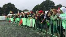 France-Belgique:  près de 6.000 spectateurs au circuit de Chimay