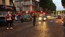 Concert de Klaxons à Lorient pour fêter la qualification de la France