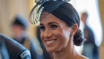 Meghan Markle Sports Low Ponytail For Prince Louis's Christening