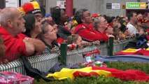 L'Avenir - Football : Ambiance France Belgique à Sclessin