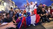 MACON-INFOS : FRANCE VS BELGIQUE - La liesse à Mâcon