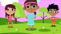 Head Shoulders Knees and Toes - Exercise Nursery Rhymes Action KIDS Songs