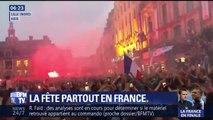 Marseillaise dans le métro, klaxons, clapping… vos images de la fête partout en France