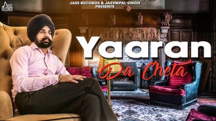 Yaaran Da Cheta HD Video Song Deep Jhinjar 2018 R Guru | New Punjabi Songs