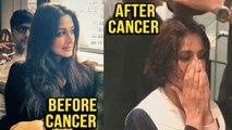 Sonali Bendre New Hair Cut To Deal With Cancer | बीमारी के चलते Sonali Bendre ने करवाया Hair Cut