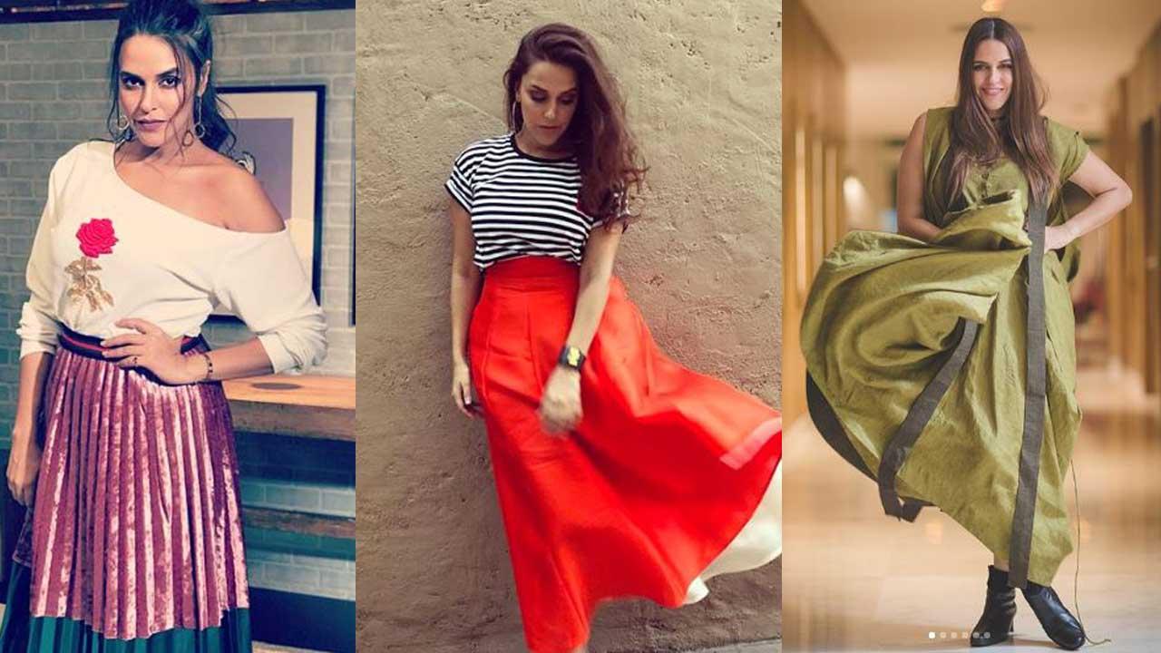 Neha Dhupia हैं Curvy Body Girls के लिए Fashion Inspiration | http://bit.ly/2XkAJCx
