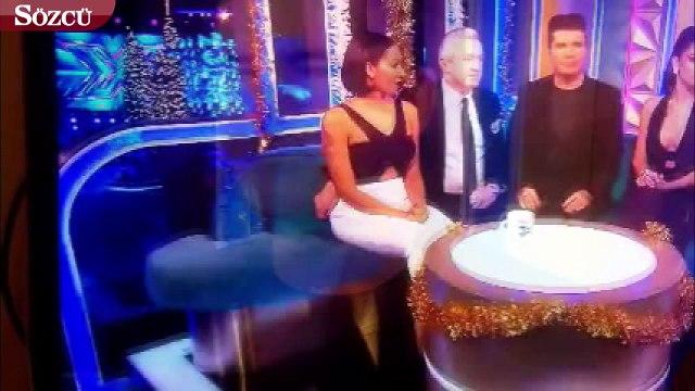 Dünyaca ünlü oyuncuya canlı yayında taciz skandalı! Melanie Brown neye uğradığını şaşırdı!