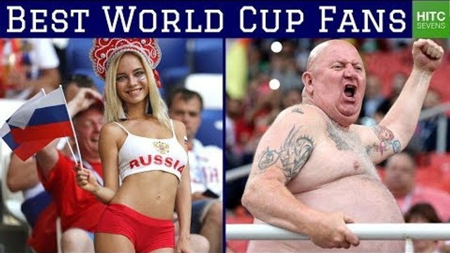 7 Best Supporters at the 2018 World Cup