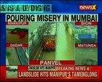 Mumbai Local train pass over the fractured track; railway officials deny carelessness