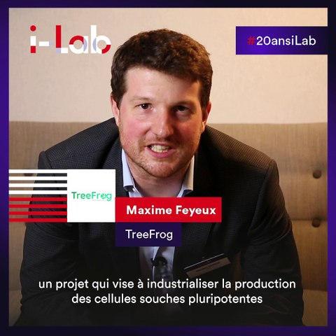 [Les lauréats en boite] Maxime Feyeux, co-fondateur de TreeFrog