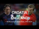 Croatia v England - World Cup Semi-Final Match Preview - Russia 2018 World Cup