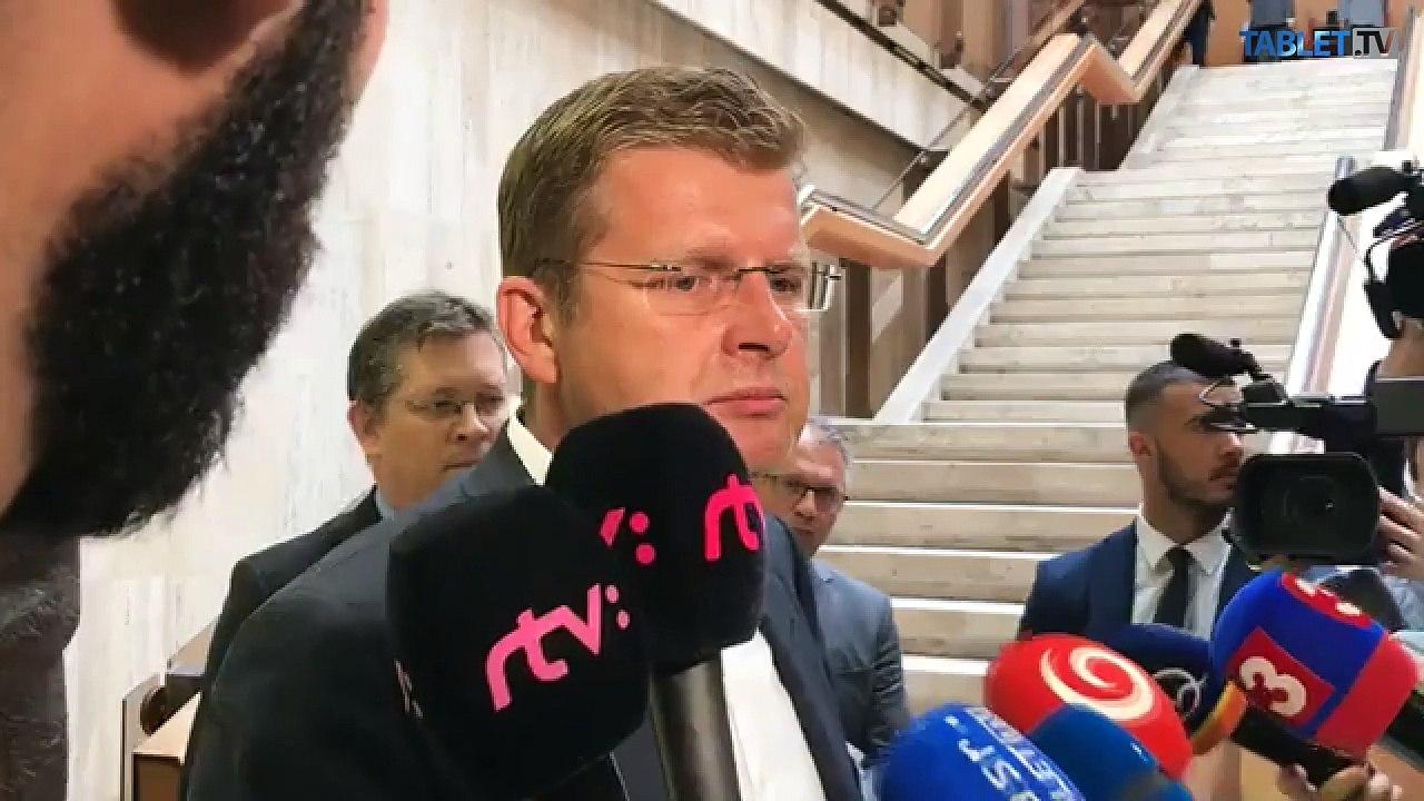 ZÁZNAM: Minister Peter Žiga po rokovaní vlády