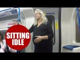 Only six in 10 commuters would give up their seat for an expectant mother
