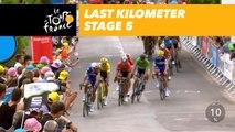 Last kilometer / Flamme rouge - Étape 5 / Stage 5 - Tour de France 2018