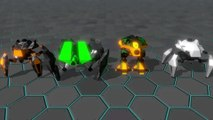Gladiabots - Bande-annonce Steam early access