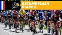 Résumé Flash - Étape 5 - Tour de France 2018