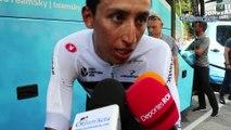 """Tour de France 2018 - Egan Bernal : """"Mon 1er Tour, c'est jour par jour et étape après étape"""""""
