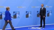 NATO Devlet ve Hükümet Başkanları Zirvesi - Karşılama töreni - BRÜKSEL