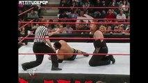 The Rock Vs The Undertaker (2000) - WWE Wrestling Fight Fighting MMA Sports Dwayne The Rock Johnson