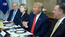 """Дональд Трамп раскритиковал Ангелу Меркель из-за """"Северного потока-2"""" (11.07.2018)"""