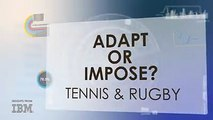 Click to watch Sky Sports experts discuss how tennis players and rugby players can learn from each other to #findtheadvantage!Angela Barnes IBM