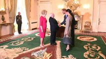 Prince Harry and Meghan, Duchess of Sussex make friends with Irish president's dogs!