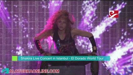 Shakira Live Concert in Istanbul - El Dorado World Tour